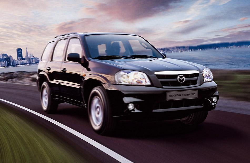 2005 Mazda Tribute Front Angle