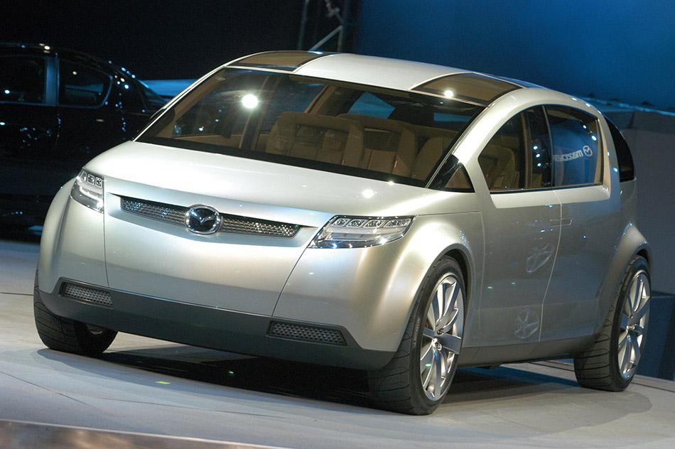 2003 Mazda Washu Concept Front Angle