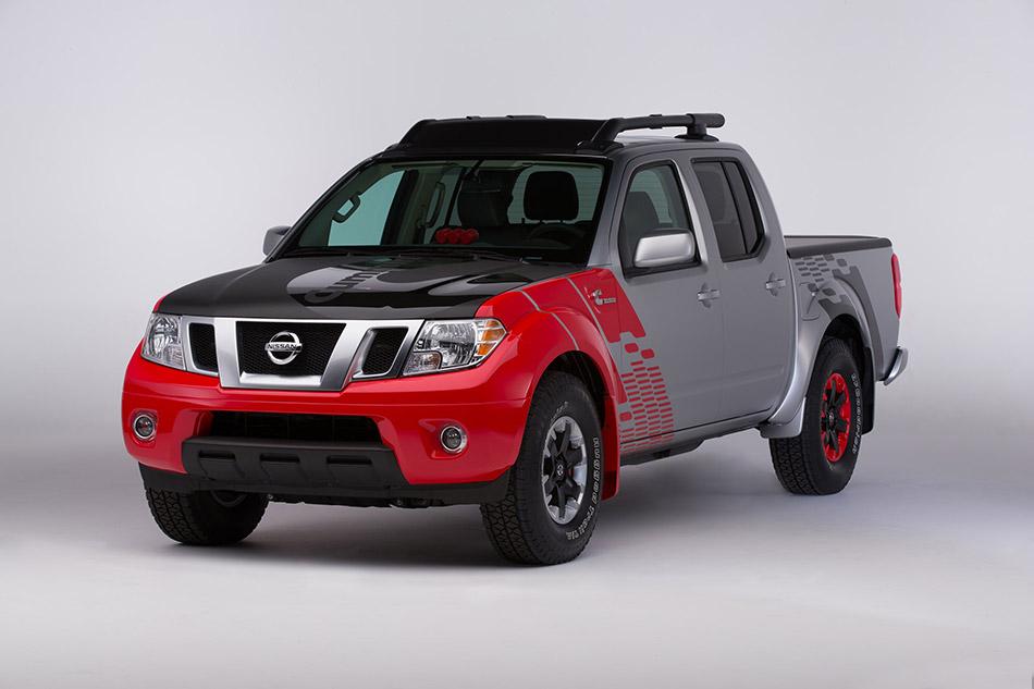 2015 Nissan Frontier Diesel Runner Cummins Front Angle