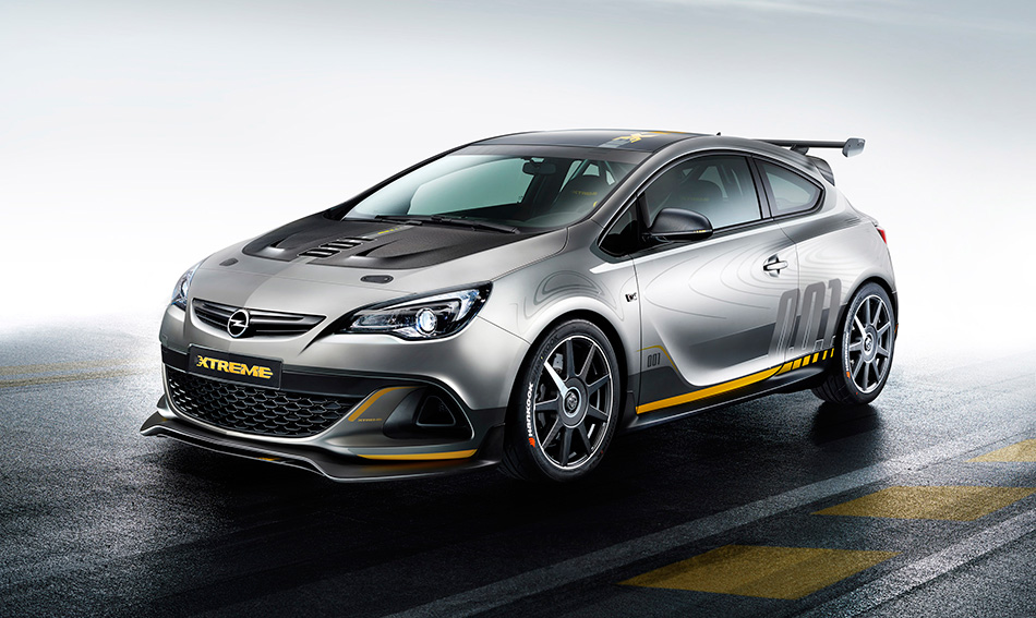 2015 Opel Astra OPC Extreme Front Angle