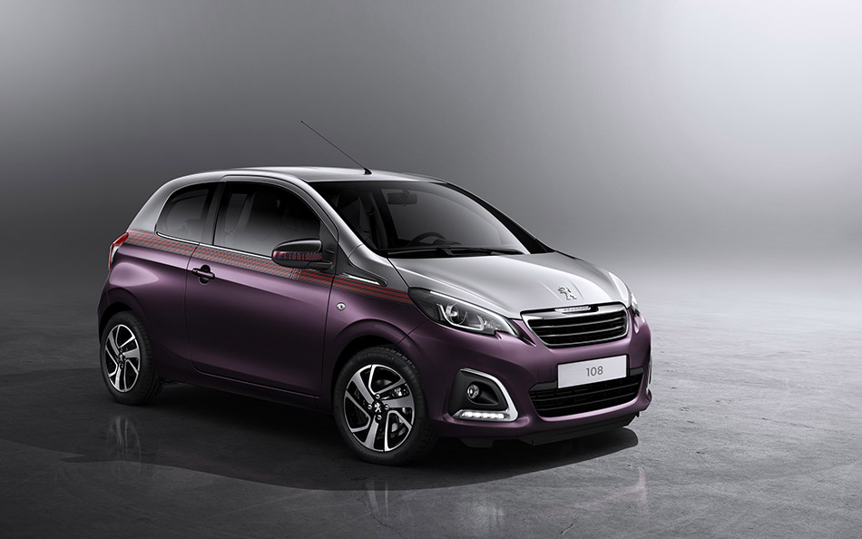 2015 Peugeot 108 Front Angle