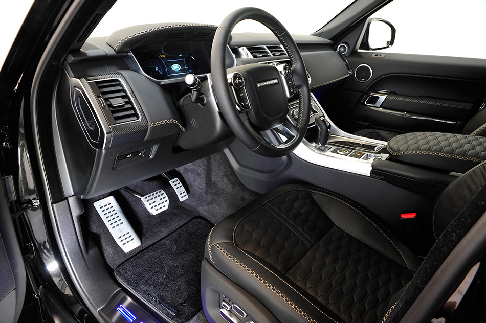 2014 Startech Widebody Range Rover Sport Interior