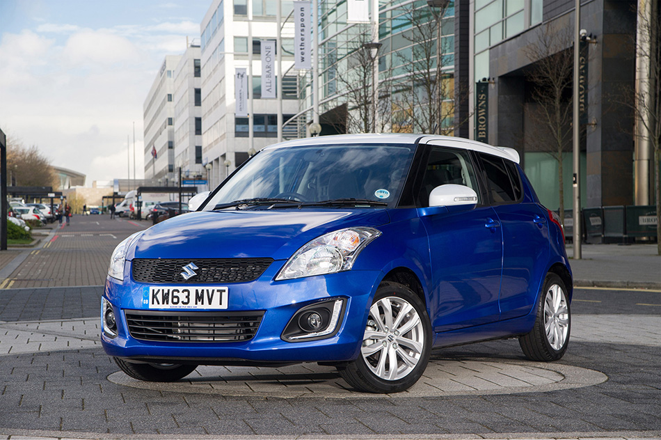 2014 Suzuki Swift SZ-L Special Edition Front Angle
