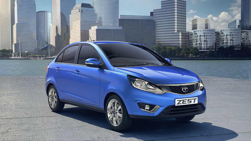 2014 Tata ZEST Front Angle
