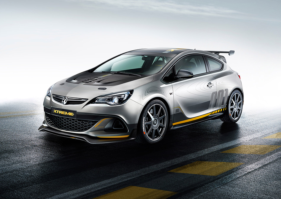 2015 Vauxhall Astra VXR Extreme Front Angle
