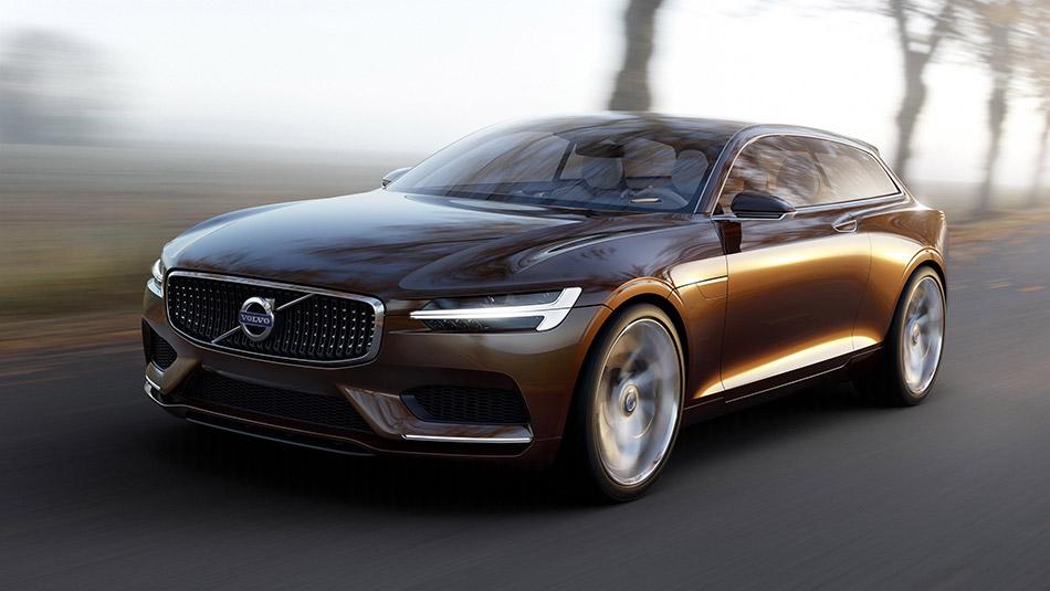 2014 Volvo Estate Concept Front Angle