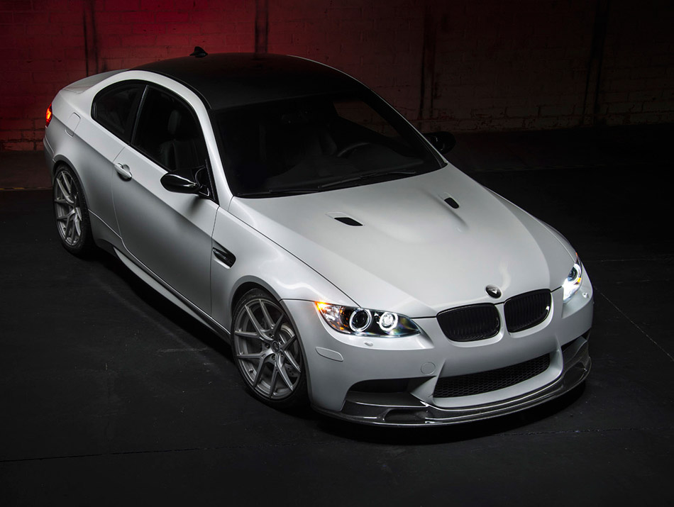 2014 Vorsteiner BMW E92 M3 Coupe Front Angle