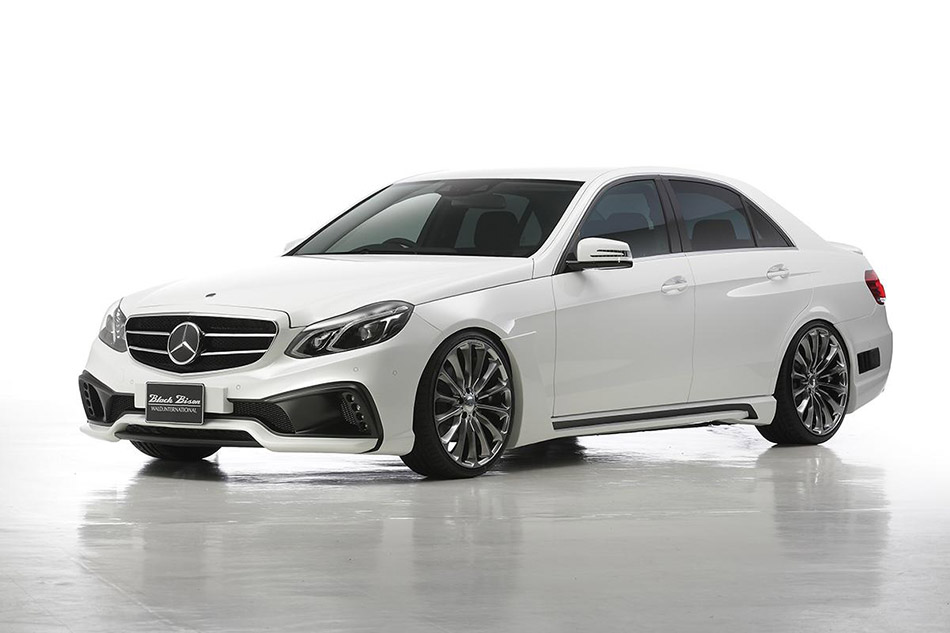 2014 Wald Mercedes-Benz E-Class Black Bison Edition Front Angle
