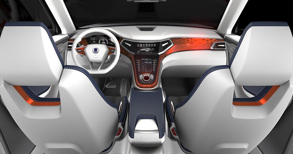 2014 SsangYong XLV SUV concept Interior