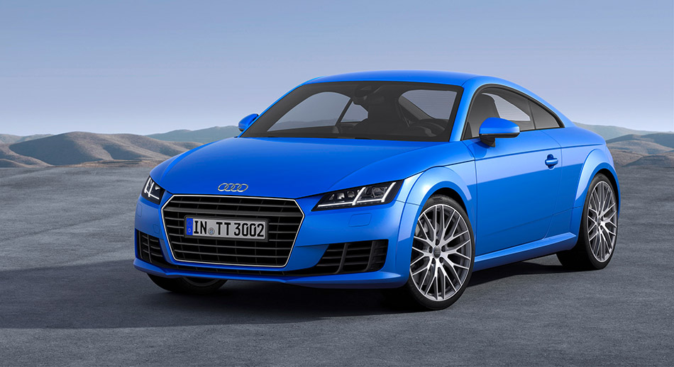 2015 Audi TT Coupe Front Angle