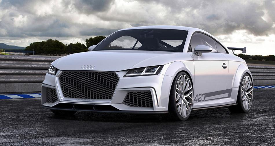 2014 Audi TT quattro Sport Concept Front Angle