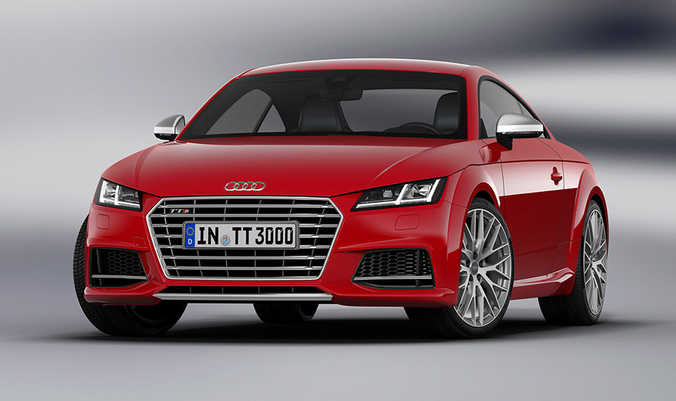 2015 Audi TTS Coupe Front Angle