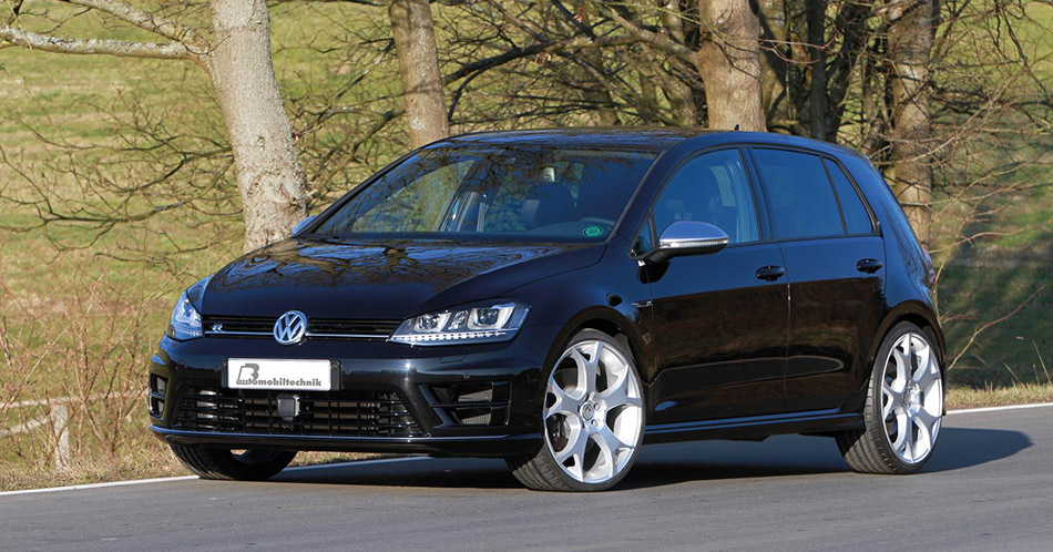 2014 BB Volkswagen Golf VII R Front Angle