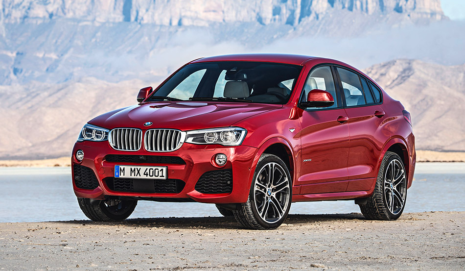 2015 BMW X4 Front Angle