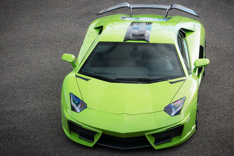 2014 FAB Design Lamborghini Aventador SPIDRON Front