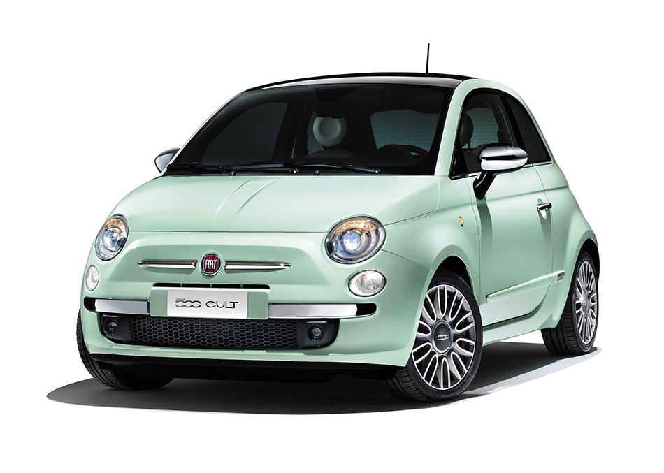 2014 Fiat 500 Cult Front Angle