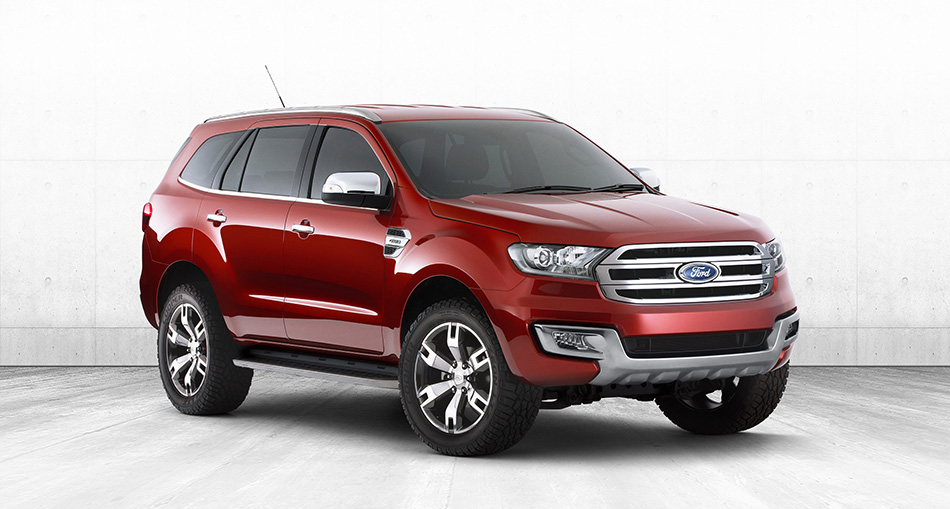 2014 Ford Everest Concept Front Angle