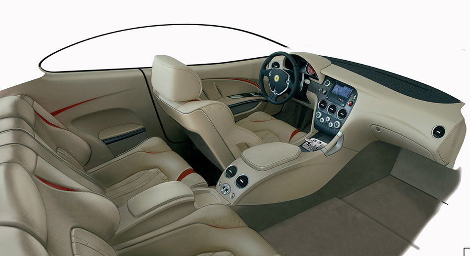 2005 Giugiaro Ferrari GG50 Interior