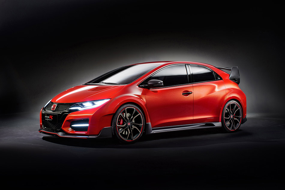 2014 Honda Civic Type R Concept Front Angle