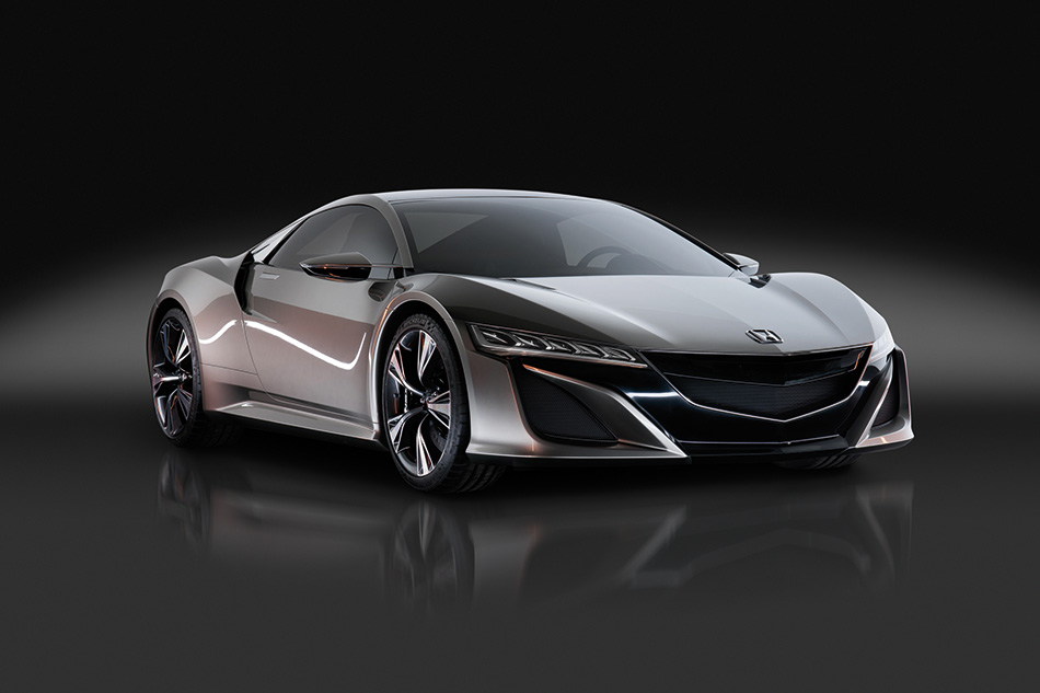 2015 Honda NSX Concept Front Angle