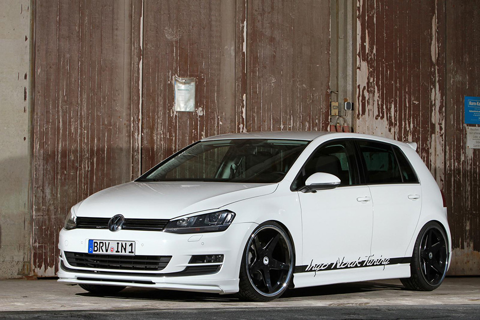 2014 Ingo Noak Volkswagen Golf VII 1.4 TSI Front Angle
