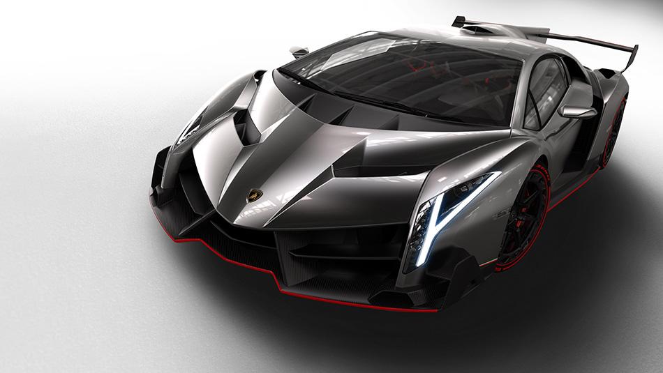 2013 Lamborghini Veneno Front Angle