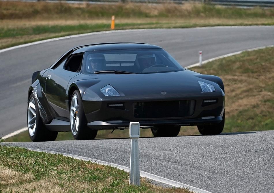 2010 Lancia Stratos Front Angle