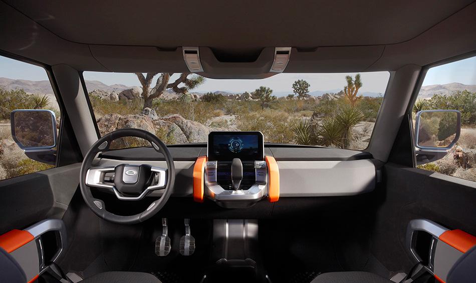2011 Land Rover DC100 Sport Concept Interior