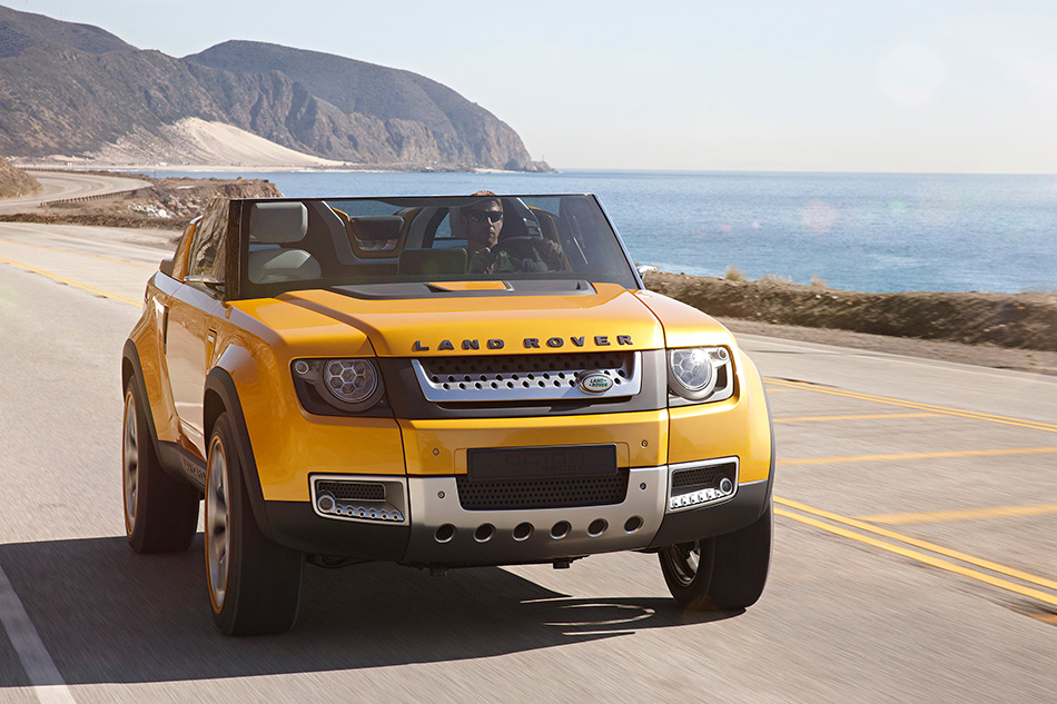 2011 Land Rover DC100 Sport Concept Front Angle