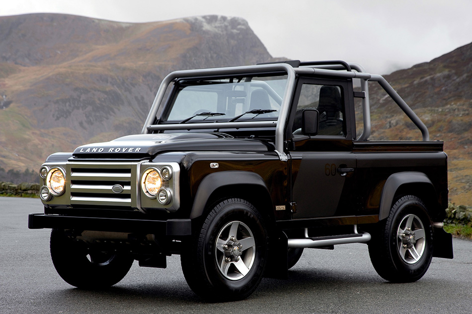 2008 Land Rover Defender SVX Front Angle