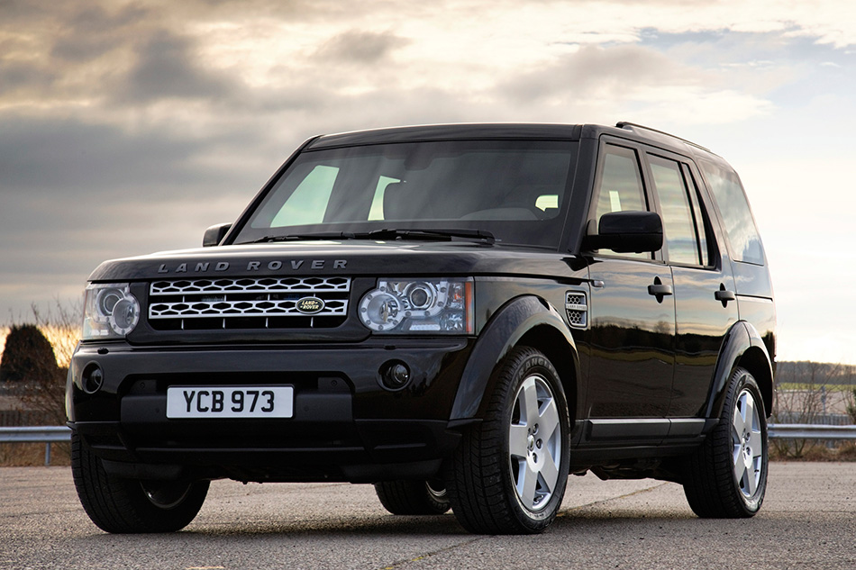 2011 Land Rover Discovery 4 Armoured Front Angle