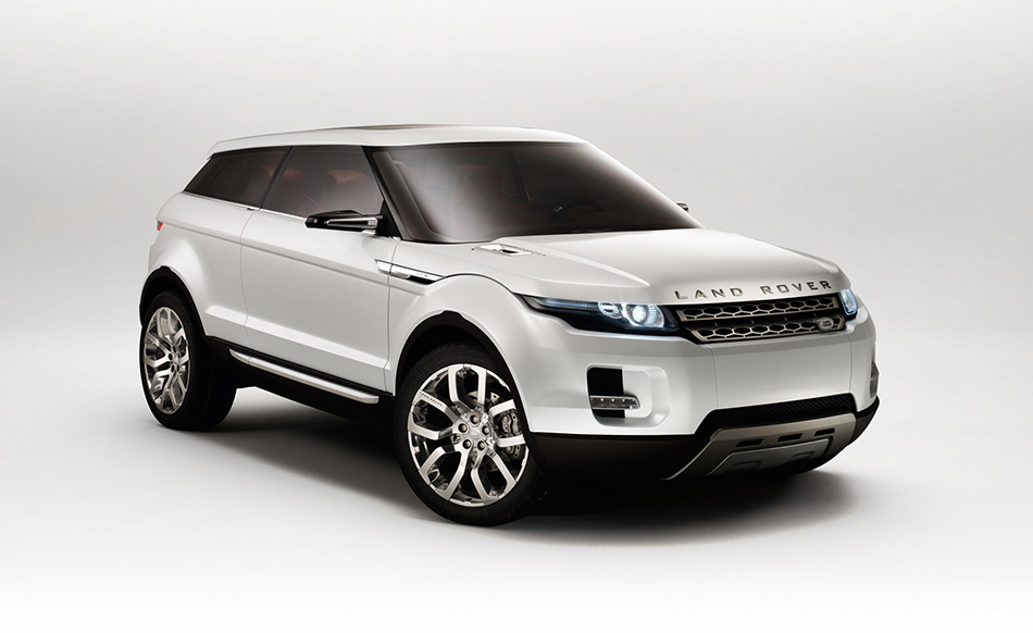 2008 Land Rover LRX Concept Front Angle