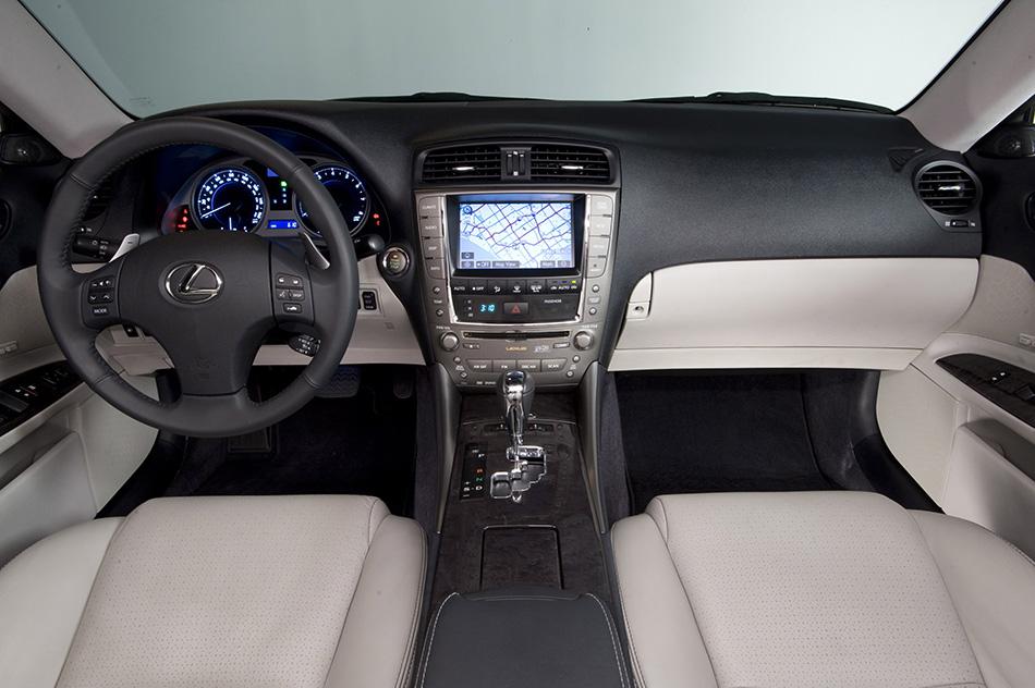 2009 Lexus IS 350 Interior