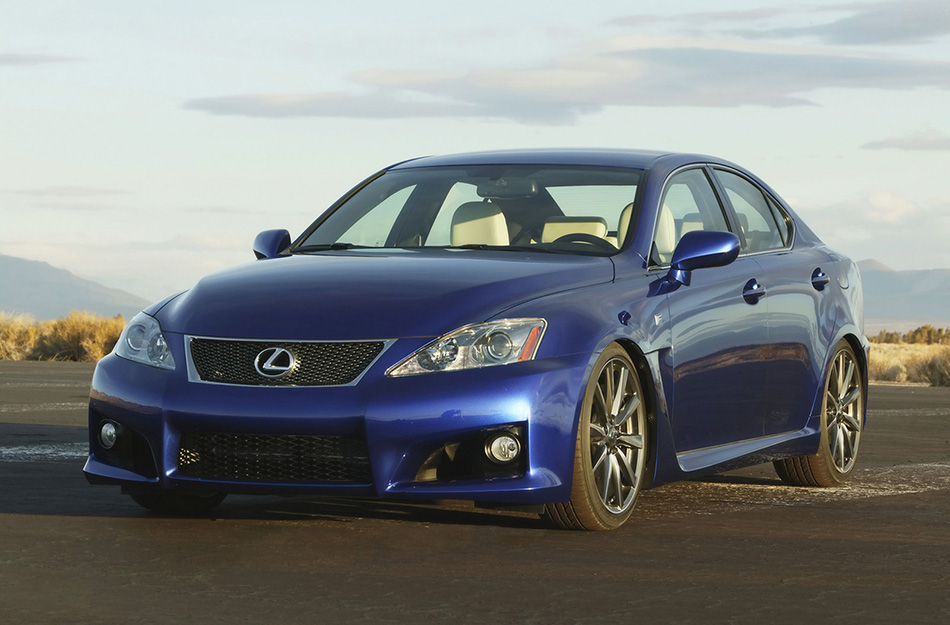 2008 Lexus IS-F Front Angle
