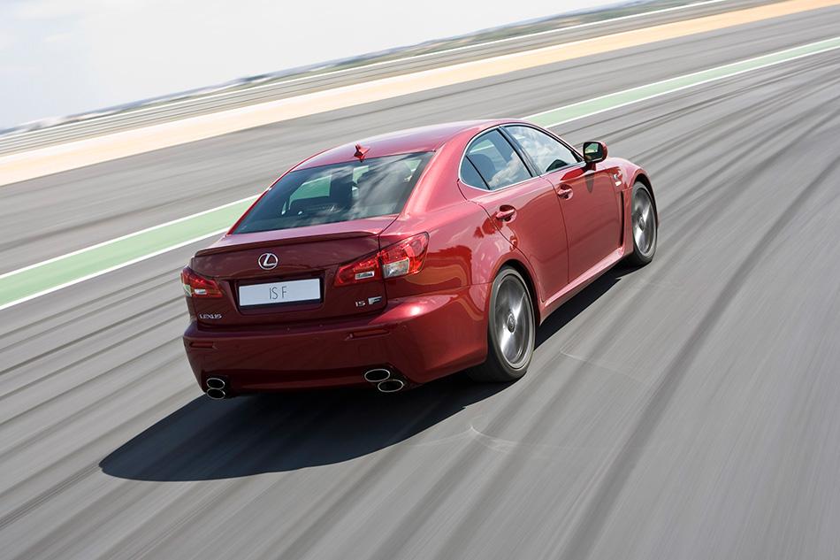 2008 Lexus IS-F EU Version Rear Angle