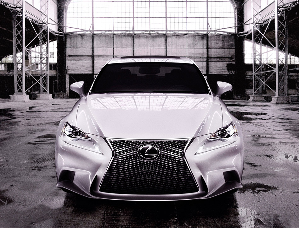 2014 Lexus IS F Sport Front Angle