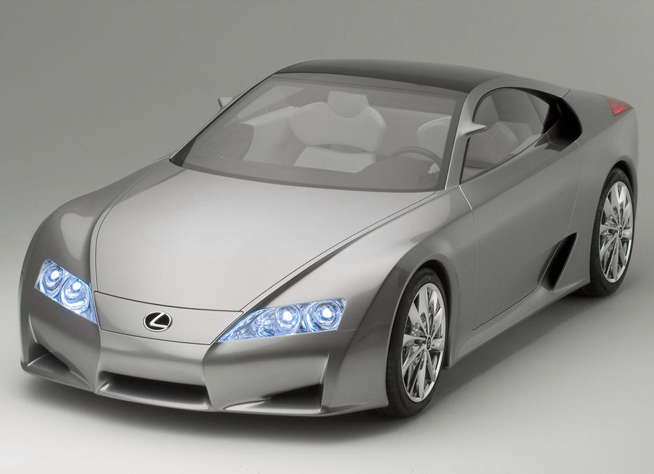 2005 Lexus LF-A Concept Front Angle