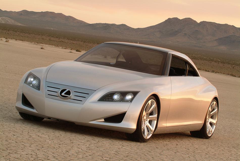 2004 Lexus LF-C Concept Front Angle