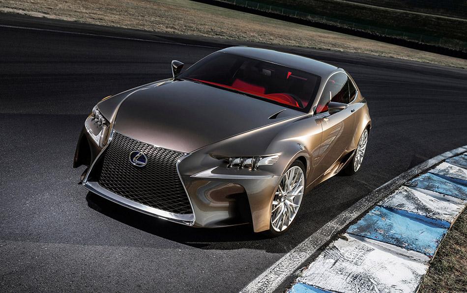 2014 Lexus LF-CC Front Angle