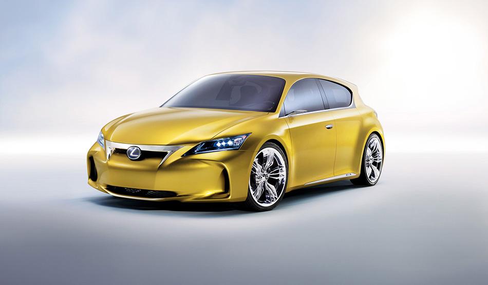 2009 Lexus LF-Ch Concept Front Angle