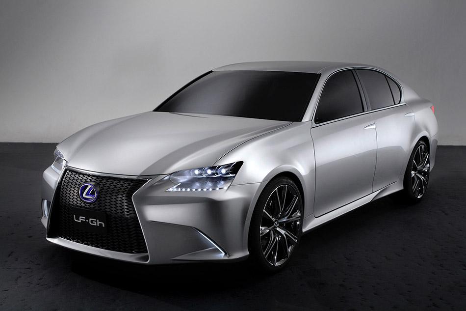 2011 Lexus LF-Gh Concept Front Angle