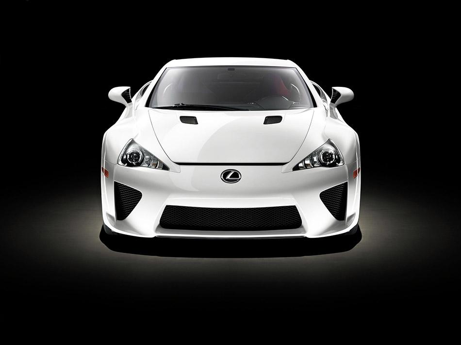 2011 Lexus LFA Front Angle