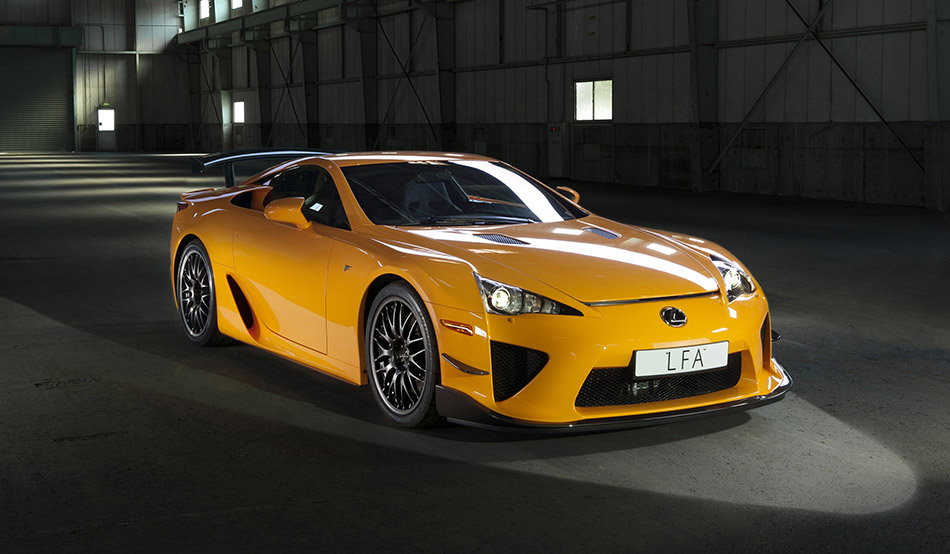 2012 Lexus LFA Nurburgring Package Front Angle