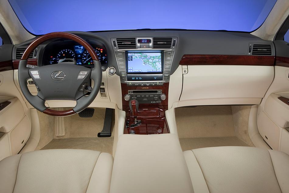 2010 Lexus LS 460 L Interior