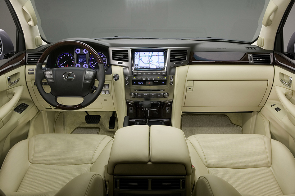 2008 Lexus LX 570 Interior