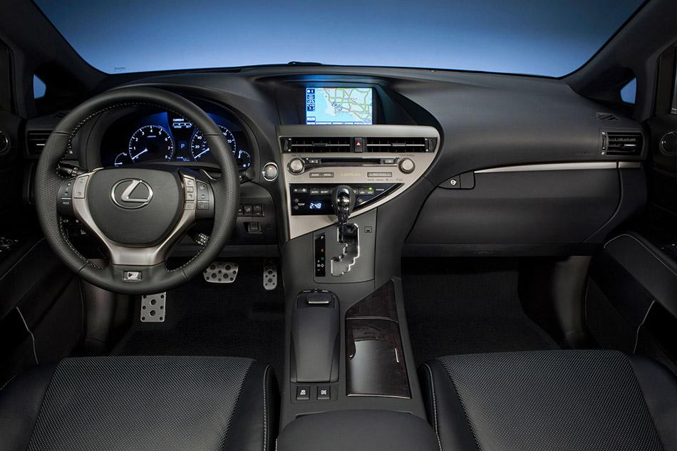 2013 Lexus RX 350 F Sport Interior