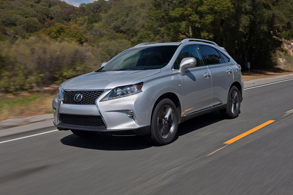 2013 Lexus RX 350 F Sport Front Angle