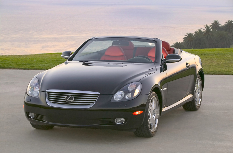 2005 Lexus SC Pebble Beach Edition Front Angle