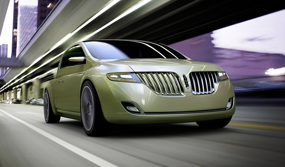 2009 Lincoln C Concept Front Angle