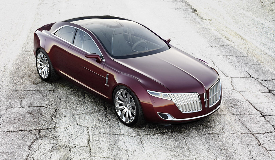 2007 Lincoln MKR Concept Front Angle